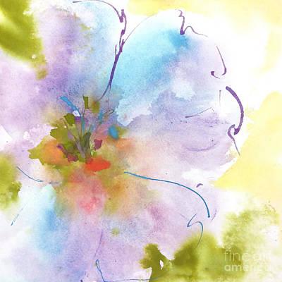 Flower Tint Poppy I Art Print