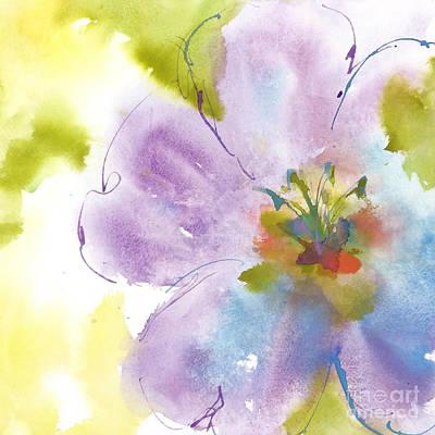 Flower Tint Poppy II Art Print