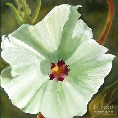 Painting - Flower Two by Joan A Hamilton