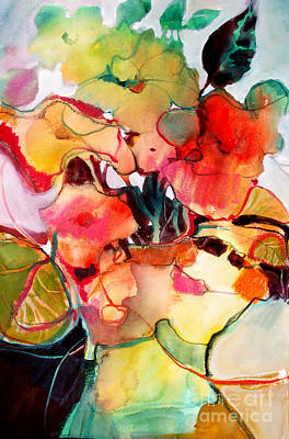 Art Print featuring the painting Flower Vase No. 2 by Michelle Abrams