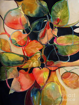 Art Print featuring the painting Flower Vase No. 5 by Michelle Abrams