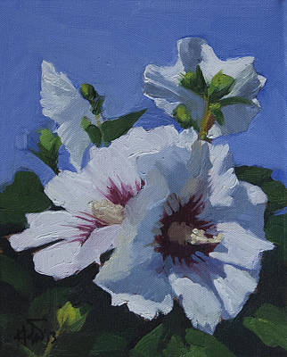 Painting - Flower_04 by Helal Uddin