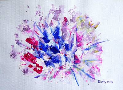 Painting - Flowerburst by Veronica Rickard
