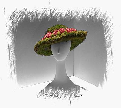 Photograph - Flowered Hat by Alice Gipson