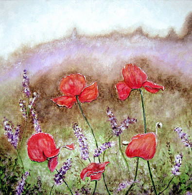Painting - Flowering Field by Lisa Stanley