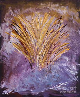 Flowering Nebula Art Print
