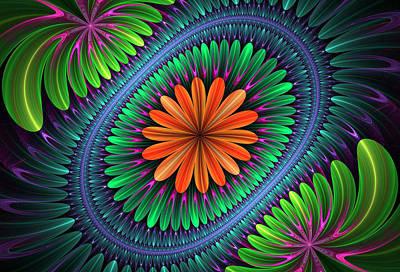 Digital Art - Flowering by Sandy Keeton