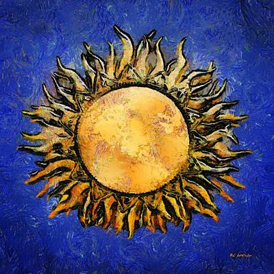 Painting - Flowering Sun by RC DeWinter