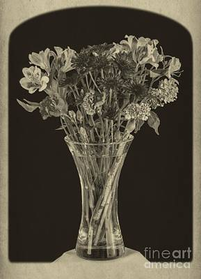 Flowers 1860s Print by Edward Fielding