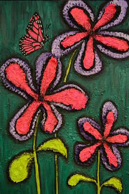 Shawn Marlow Painting - Flowers 4 Sydney by Shawn Marlow