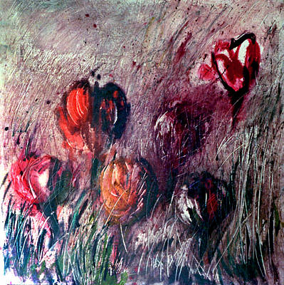 Painting - Flowers #49 by Alfredo Gonzalez