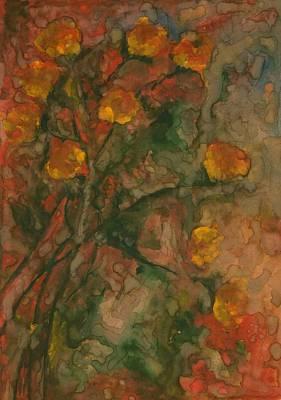 Vibrance Painting - Flowers 7 by Wojtek Kowalski