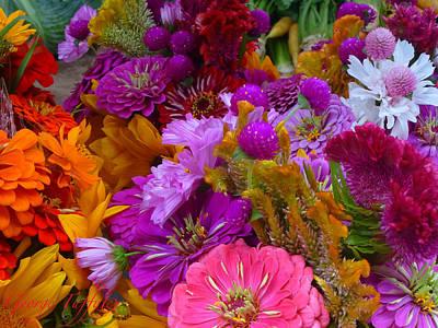 Photograph - Flowers Abundance by George Tuffy