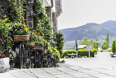 Pasta Al Dente - Flowers And Bikes by Stefano Piccini