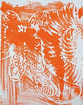 Drawing - Print Making Project by Liz Adkinson