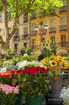 Photograph - Flowers At Market by Brian Jannsen