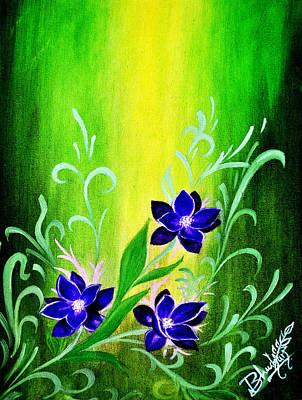 Flowers Original by Bhushan Nayak