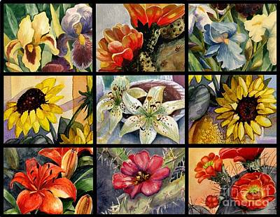 Painting - Flowers Everywhere by Marilyn Smith
