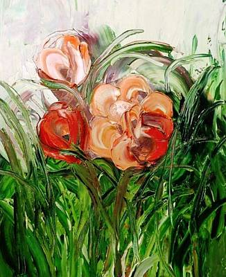 Painting - Flowers by Ferid Sefer