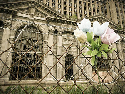 Flowers For Detroit Art Print