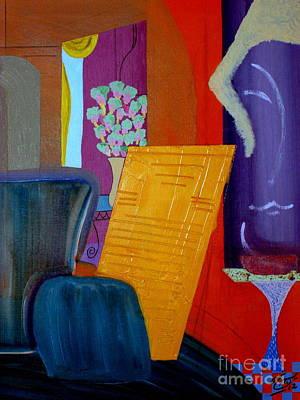 Flowers For Matisse Art Print