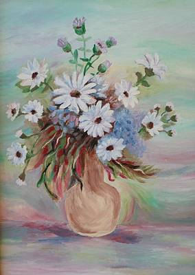 Painting - Flowers For Mom by Christy Saunders Church