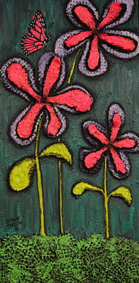 Painting - Flowers For Sydney by Shawn Marlow