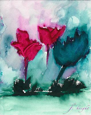 Flowers For Trees Art Print