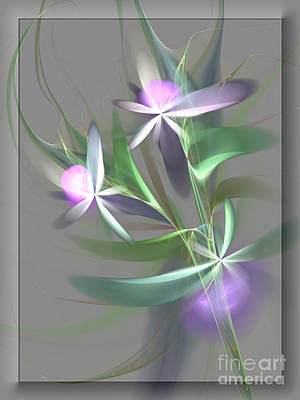 Flowers For You Art Print by Svetlana Nikolova