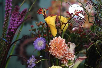 Flowers From My Window Art Print