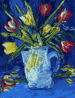 Flowers In A Vase Original