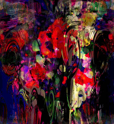 Painting - Flowers In Bloom by Natalie Holland