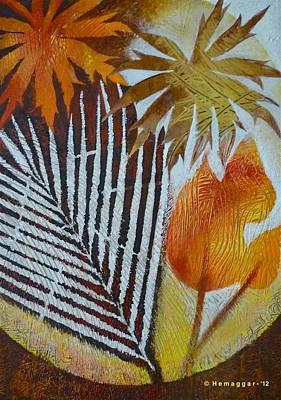 Painting - Flowers In Fall by Hemu Aggarwal