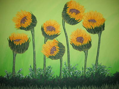 Painting - Flowers In Menopause  by Roberta Dunn