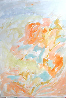 Painting - Flowers In Springtime by Esther Newman-Cohen