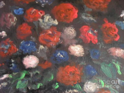 Painting - American Floral by Laurie L