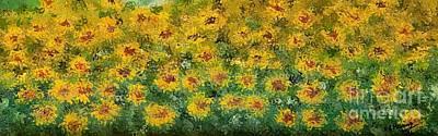 Flowers Art Print by Loredana Messina