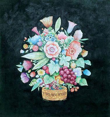 Jerusalem Painting - Flowers by Michoel Muchnik