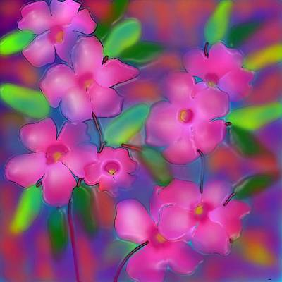 Diwali Digital Art - Flowers Of October by Latha Gokuldas Panicker