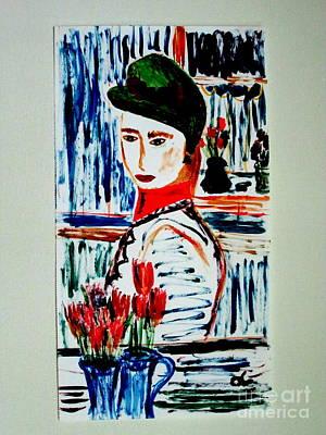 Flowers Of Rue Cler Art Print