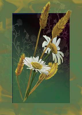 Gina Femrite Wall Art - Painting - Flowers Of The Field by Regina Femrite