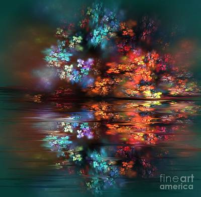 Painting - Flowers Of The Night by Greg Moores