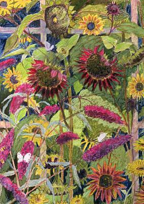 Flowers Of The Sun Art Print by Rosalie Bullock