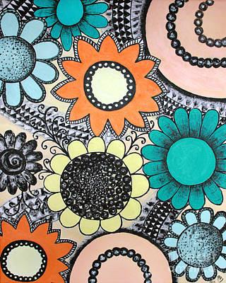 Flowers Paradise Art Print by Home Art