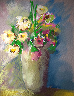 Painting - Flowers by Synnove Pettersen