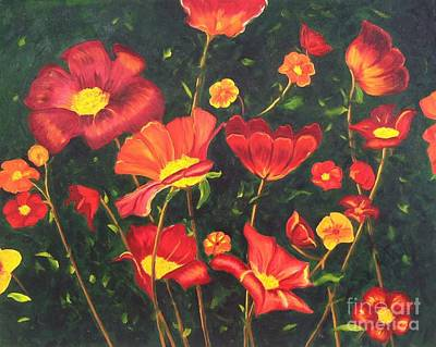 Painting - Flowers by Vikki Angel