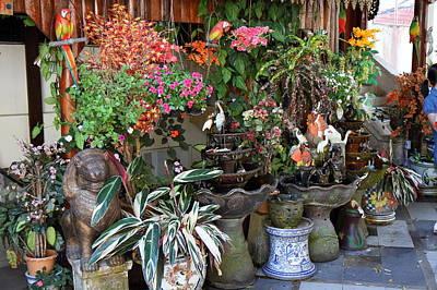 Plants Photograph - Flowers - Wat Phrathat Doi Suthep - Chiang Mai Thailand - 01133 by DC Photographer