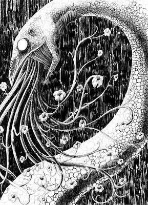 Flowervomit Art Print by Solange Henson