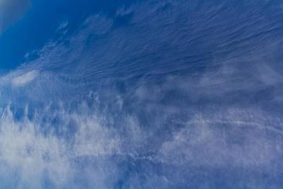 Photograph - Flowing Clouds by David Pyatt