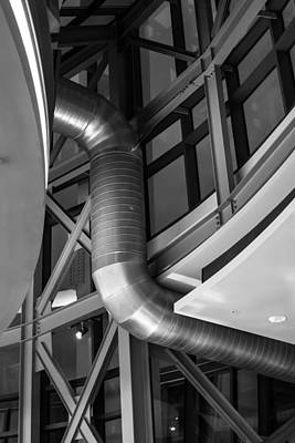 Photograph - Flowing Duct by Melinda Ledsome